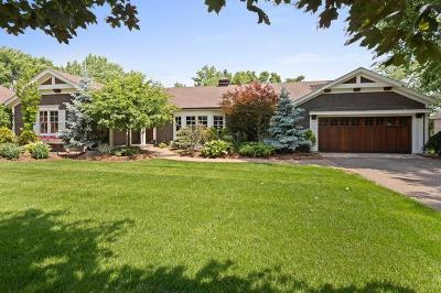 Edina Single Family Home For Sale: 6509 Cherokee Trail