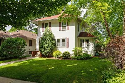Saint Paul Single Family Home For Sale: 377 Macalester Street