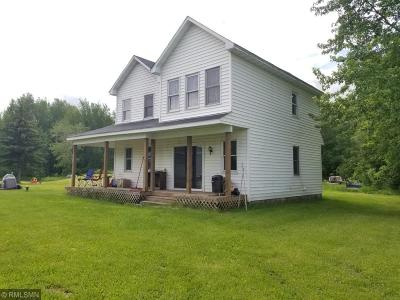 Ogilvie MN Single Family Home For Sale: $155,000