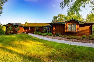 Single Family Home For Sale: 9450 Mendel Road N