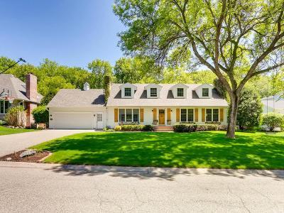 Edina Single Family Home For Sale: 6529 Cherokee Trail