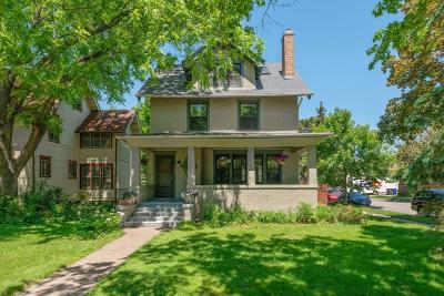 Saint Paul Single Family Home For Sale: 1755 Lincoln Avenue