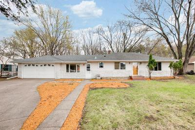 Shoreview Single Family Home For Sale: 4984 Turtle Lane W
