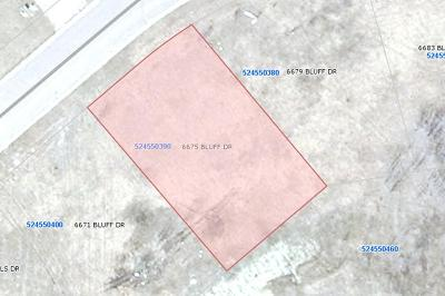 Residential Lots & Land For Sale: 6675 Bluff Drive