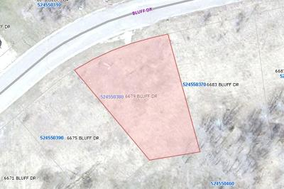 Residential Lots & Land For Sale: 6679 Bluff Drive