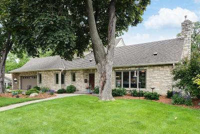 Edina Single Family Home For Sale: 4832 W Sunnyslope Road