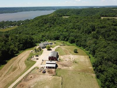 Pepin County Single Family Home For Sale: N2116 Twin Bluff Lane