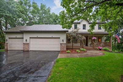 Ham Lake Single Family Home For Sale: 14846 4th Street NE