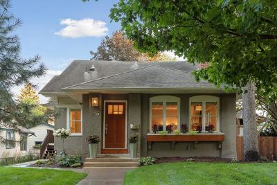 Minneapolis Single Family Home For Sale: 315 Busch Terrace