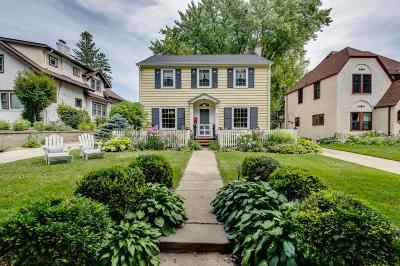 Edina Single Family Home For Sale: 4615 Bruce Avenue