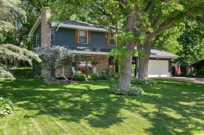 Minnetonka Single Family Home Contingent: 9908 Sandra Lane