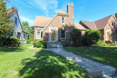 Saint Paul Single Family Home For Sale: 1544 Pascal Street N