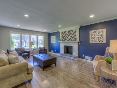 Edina Single Family Home For Sale: 5400 Valley Lane