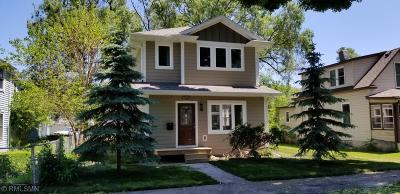 Minneapolis Single Family Home For Sale: 3945 39th Avenue S