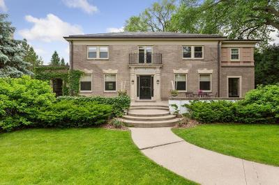 Single Family Home For Sale: 4511 E Lake Harriet Parkway
