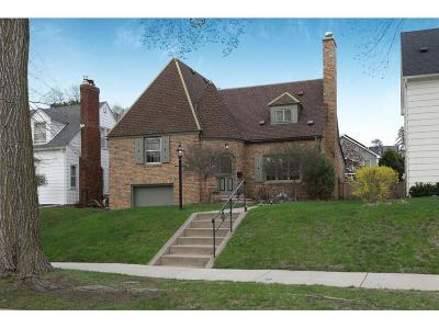 Minneapolis Single Family Home For Sale: 2715 Ewing Avenue S