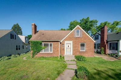 Minneapolis MN Single Family Home For Sale: $259,000