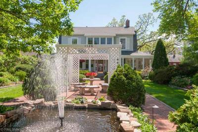 Saint Paul Single Family Home For Sale: 1186 Summit Avenue