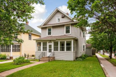 Saint Paul Single Family Home For Sale: 1821 Selby Avenue