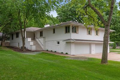 Edina Single Family Home For Sale: 5809 View Lane