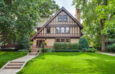 Saint Paul Single Family Home For Sale: 2010 Summit Avenue