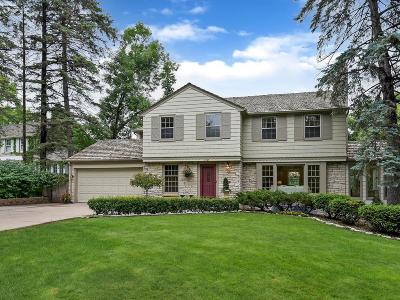 Edina Single Family Home For Sale: 4905 Browndale Avenue