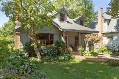 Edina Single Family Home For Sale: 4240 Scott Terrace