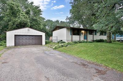 Lino Lakes Single Family Home Contingent: 8010 W Rondeau Lake Drive