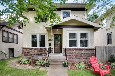 Minneapolis Single Family Home For Sale: 4825 Washburn Avenue S