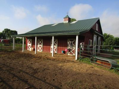 Clara City, Montevideo, Dawson, Madison, Marshall, Appleton Farm For Sale: 3020b County Rd 15 SW