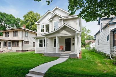 Minneapolis Single Family Home For Sale: 3241 32nd Avenue S