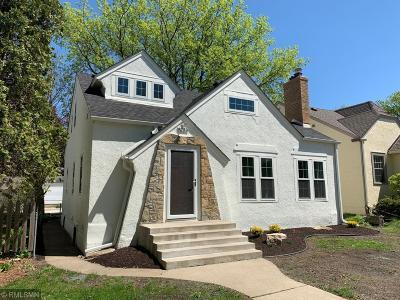 Minneapolis Single Family Home For Sale: 5253 Chowen Avenue S