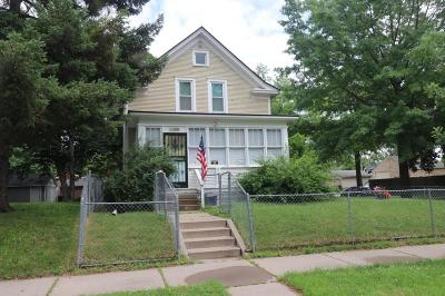 Minneapolis Single Family Home Contingent: 3502 Colfax Avenue N