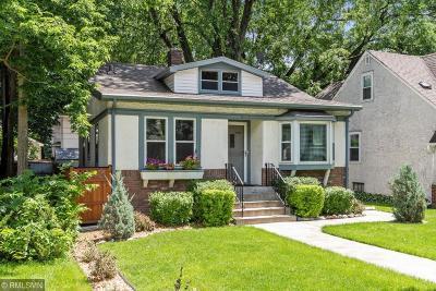 Minneapolis Single Family Home For Sale: 4831 5th Avenue S
