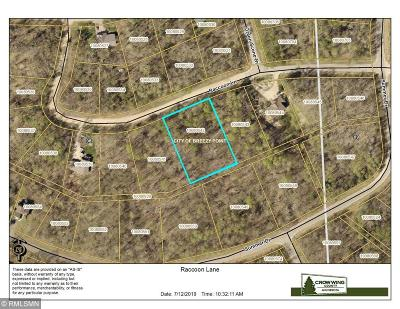 Breezy Point Residential Lots & Land For Sale: Xxxx Raccoon Lane