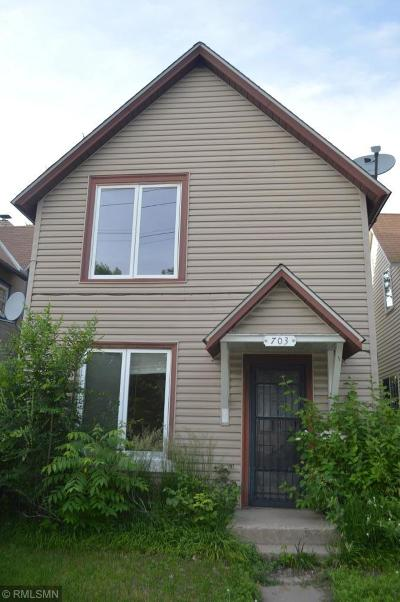 Minneapolis Single Family Home For Sale: 703 27th Avenue NE