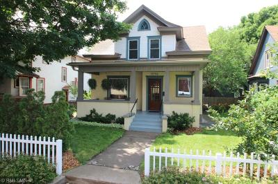 Minneapolis Single Family Home For Sale: 3732 Bryant Avenue S