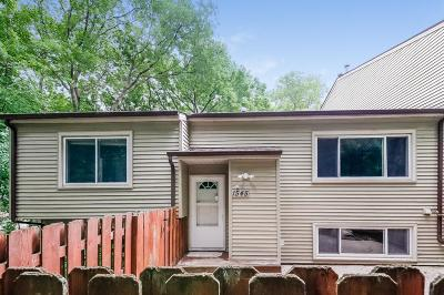 Eagan Condo/Townhouse For Sale: 1545 Greenwood Court N