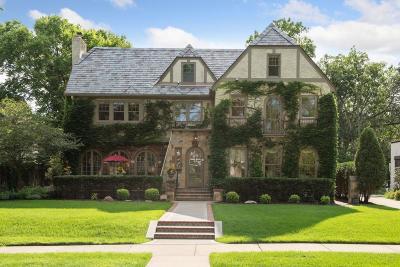 Edina Single Family Home For Sale: 4508 Moorland Avenue