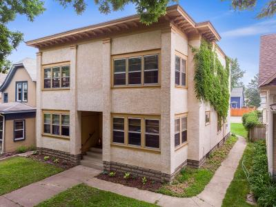 Minneapolis Multi Family Home For Sale: 3427 - 3429 Harriet Avenue