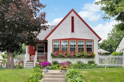 Minneapolis Single Family Home For Sale: 4733 Elliot Avenue