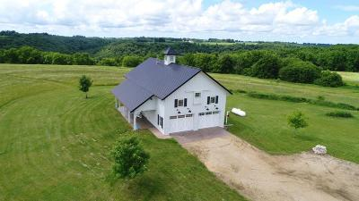 Pepin County Single Family Home For Sale: N2641 Bogus Road