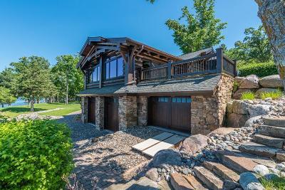 Nisswa Single Family Home For Sale: 21799 Holman Point Drive