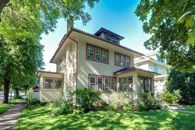 Saint Paul Single Family Home For Sale: 2117 Carroll Avenue