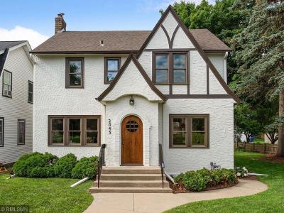 Saint Paul MN Single Family Home For Sale: $724,900