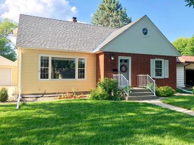 Clara City, Montevideo, Dawson, Madison, Marshall, Appleton Single Family Home For Sale: 513 Central Avenue