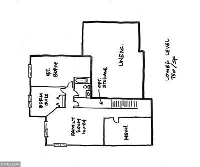 Roseville Single Family Home For Sale: Xxxx William Street N