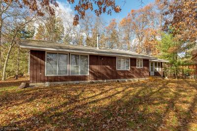 Pequot Lakes Single Family Home For Sale: 33340 S Oak Drive