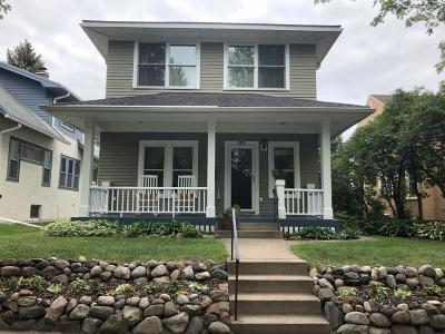 Saint Paul Single Family Home For Sale: 1270 Eleanor Avenue