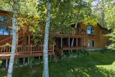 Single Family Home For Sale: 43515 Spider Shores Road